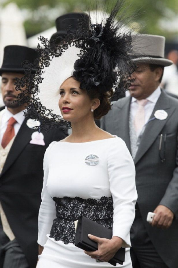 Princess Haya Bint Al Hussein of Jordan attends Day 3 of Royal Ascot 2014