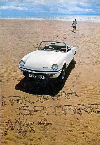 TRIUMPH SPITFIRE MK 4, Yeah, There I am again walkin' cause she was always breaking down someplace... But I still really loved her anyway.