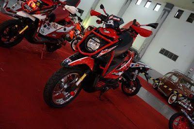 Modifikasi Motor Yamaha X Ride Terbaru