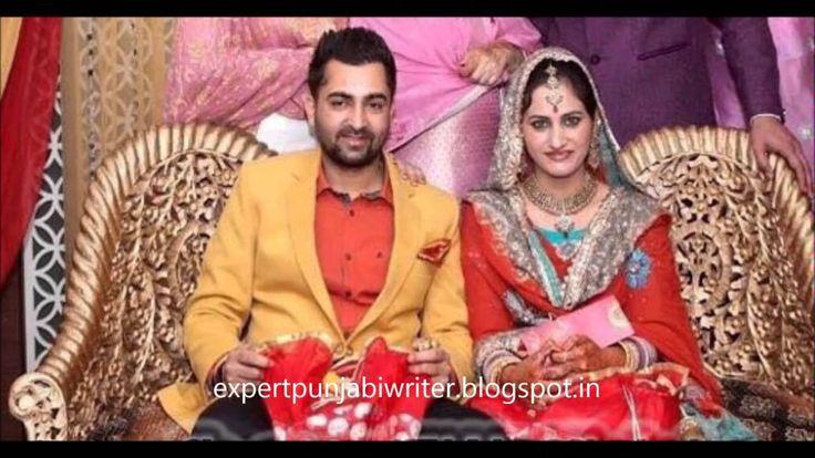 Punjabi singers with their wives_Debi Makhsoospuri_Harbhajan maan_Sherry...