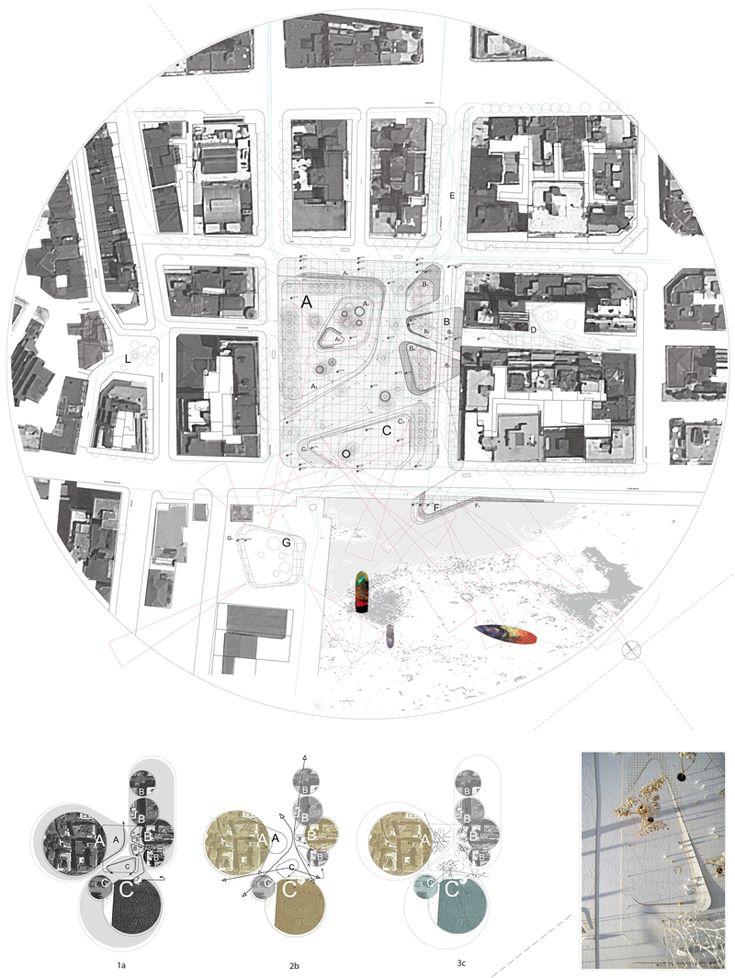 Eleftherias Square, Thessaloniki, GR | draftworks* 2013 Masterplan