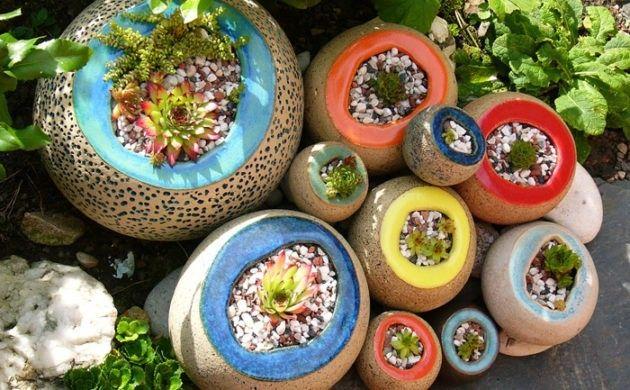töpfern ideen kreative gestaltung diy ideen diy deko selber machen handwerk pflanzengefässe