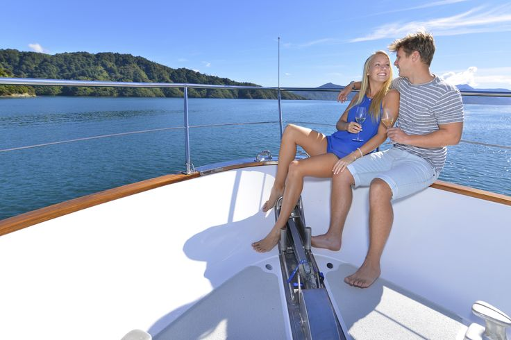 Get away from it all in Marlborough Sounds paradise with your own luxury launch. Go for the day or stay awhile with 3 ensuite cabins...