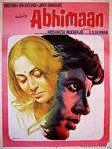 Abhiman Film PosterMovie Posters, Bollywood Movie, Amitabh Bachchan, Picture-Black Posters, Bollywood Posters, Artists Posters, Film Posters, Hindi Film, Cinema Posters