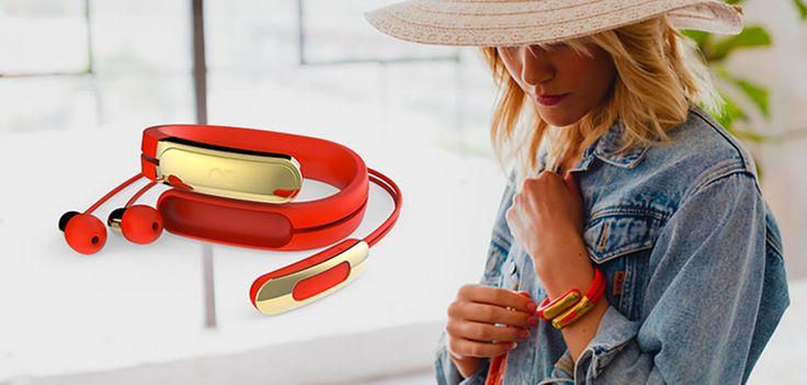 Helix : le bracelet qui cache des écouteurs Bluetooth