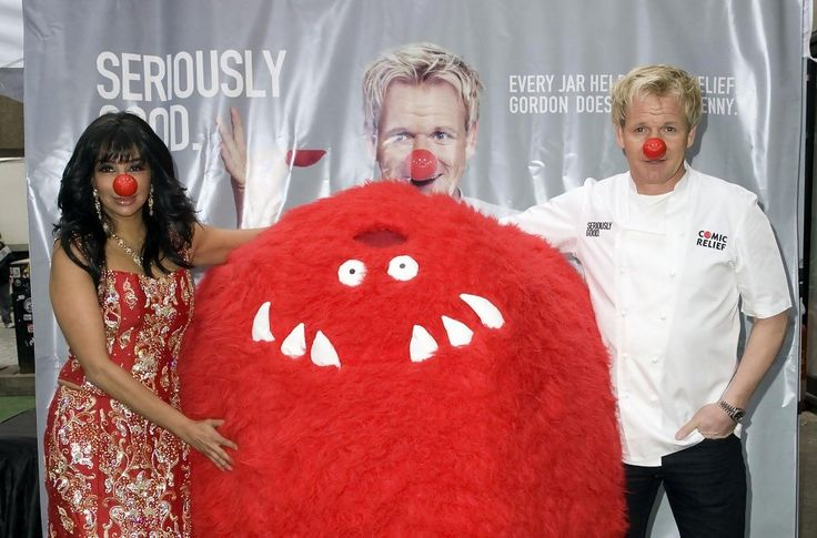 Gordon Ramsay and Shobna Gulati - Gordon Ramsay Launches a New Sauce