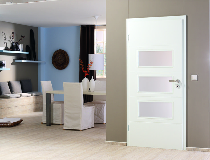 Timeless Design.  This #interior #Door fits into every house!