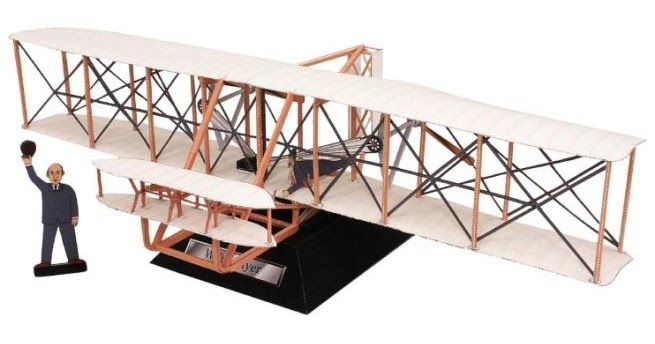 According to Wikipedia , the Wright Flyer (often retrospectively referred to as Flyer I or 1903 Flyer)  was the  first successful heavier-...