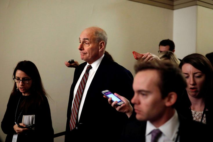 Trump Was Not Fully Informed in Campaign Vows on Wall Chief of Staff Says