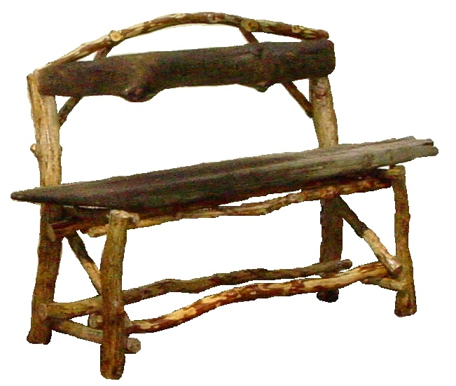 1852 best images about projects to try on pinterest for Tree trunk garden bench