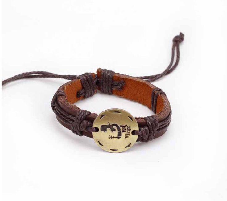 2015 moda liga acessórios Zodíaco mão tecido pulseira de couro casal em Pulseiras de IDENTIFICAÇÃO de Jóias & Acessórios no AliExpress.com | Alibaba Group