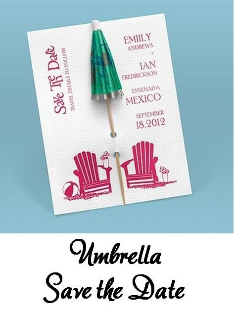 Cool invite for any tropical theme...love!