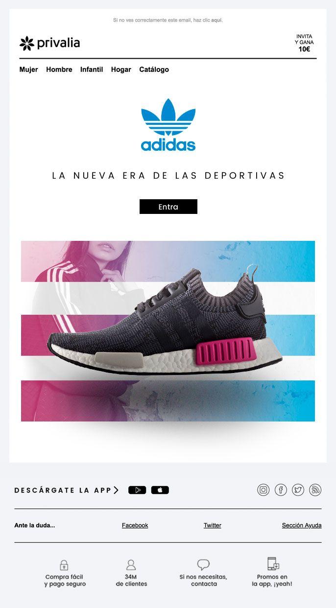 Supresión Orador síndrome  email #newsletter #editorial #adidas #moda La nueva era de las deportivas    Adidas, Catalogo adidas, Deportes