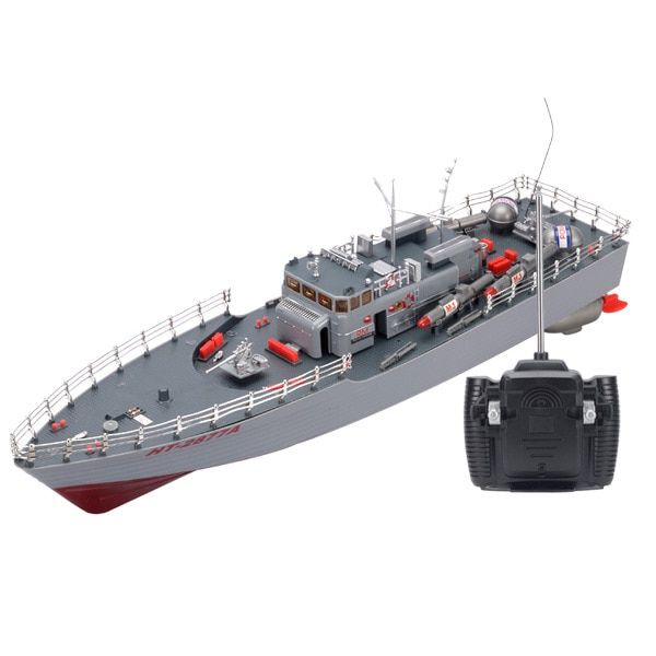 Ht 2877a Rc Torpedo Boat 1 115 4ch Large Rc Boat Military Ship