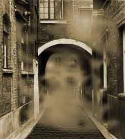 Jack the Ripper tour take you on 6 of the murder sites White chapel London England