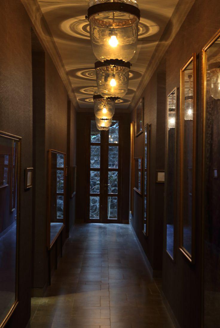 Feel the ambience of Indonesian heritage at corridor DaLa Spa Alaya Resort Ubud!