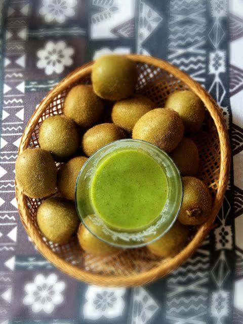 Vegan Recipes: Kiwi smoothie