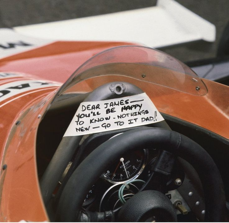 McLaren Formula 1 - 13 things you never knew about James Hunt