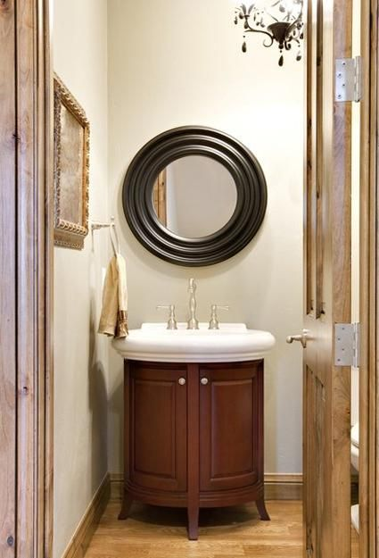 17 Best Images About Small Powder Room On Pinterest Powder Room Design Vanities And Tiny Half
