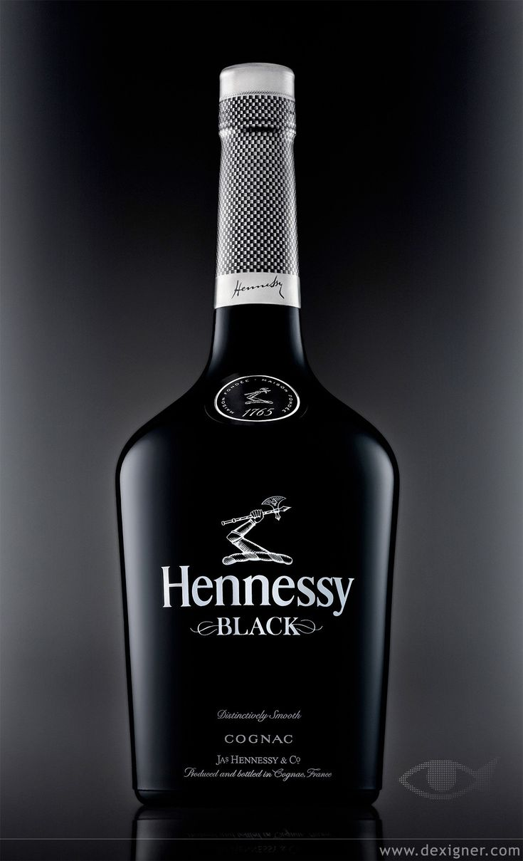 Hennessy Black Cognac. on Sean's Drink and the only one that I can bare