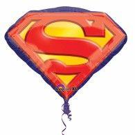 Shape Superman Emblem 66cm x 50cm $17.95 U29692