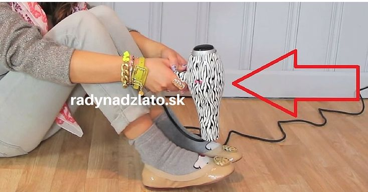 Žena si obula nové topánky a začala si ich fénovať. Tento skvelý trik budete používať aj vy! | Radynadzlato.sk