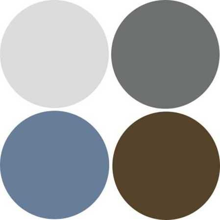 Modern Interior Design 9 Decor And Paint Color Schemes That Include Gray Color Paint Colors