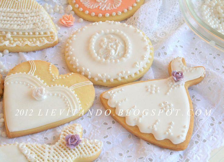 Biscotto sposa,cuore, vestito | Cookie Connection