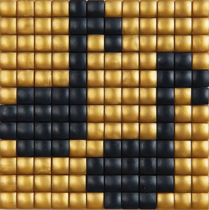 #ideeën #doe-het-zelf #knutselen #pixelhobby #pixelen #hobby #inspiratie #muziek #noot #muzieknoot #gold #goud