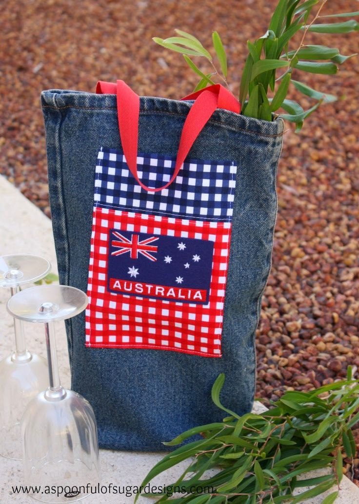 Australia Day for us always involves having a picnic or BBQ and watching the fantastic fireworks display over the Swan River. We love how people come together to celebrate Australia Day, often wearing the Aussie flag on their clothing. It really is a day that celebrates national pride. We have made a wine tote using... Read More »