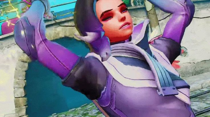 Street Fighter V Mod Lets You Play As Sombra From Overwatch
