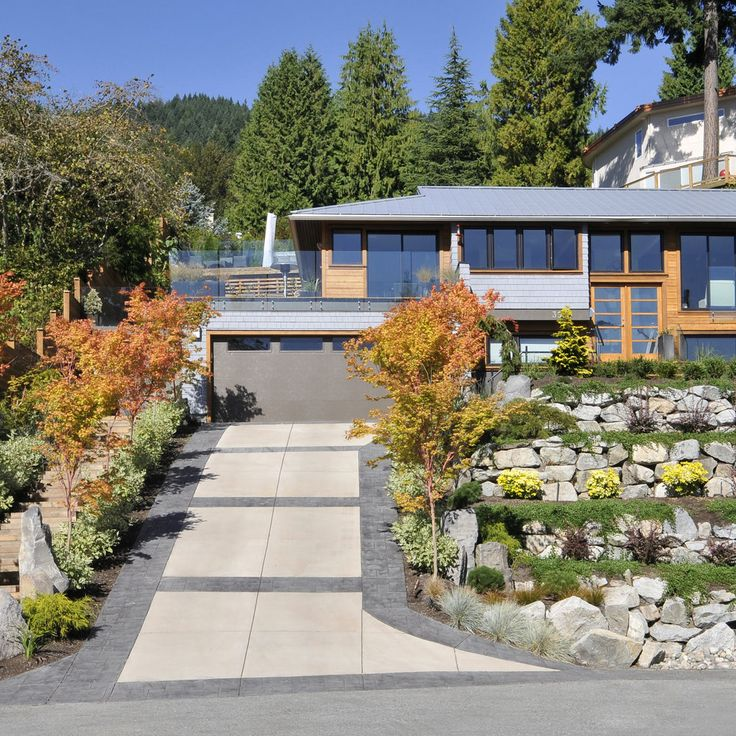 35 Best Designs Terraced Front Yard Ideas: 9 Best Steep Driveway Ideas Images On Pinterest