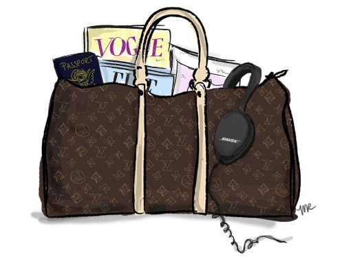 louis vuitton travel bag!