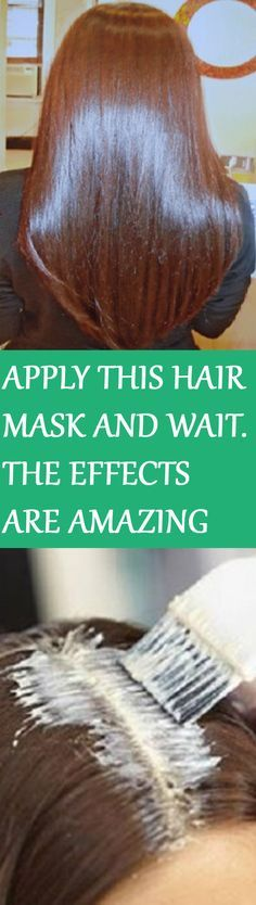 APPLY THIS HAIR MASK AND WAIT FOR FIFTEEN MINUTES- THE EFFECTS WILL LEAVE YOU BREATHLESS!!! For instructions click on the picture :D
