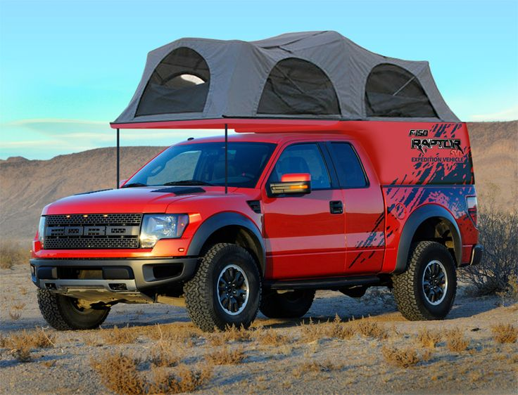 Ford F-150 - America's largest selling truck - RED SVT off-road Raptor