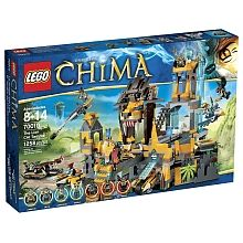 LEGO Legends of Chima - The Lion CHI Temple (70010)