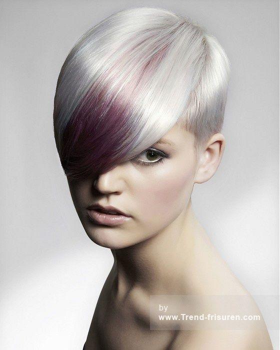 80 besten Crazy Haarfarben Bilder auf Pinterest | Frisuren, Kurze ...