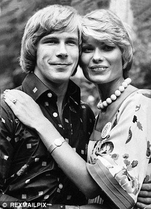 Racing driver James Hunt and wife, ex-model Suzy Miller