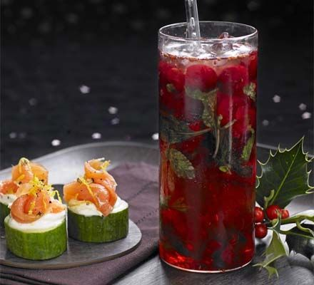 This smart cocktail and simple canapés will get the party started with maximum fun and minimum fuss