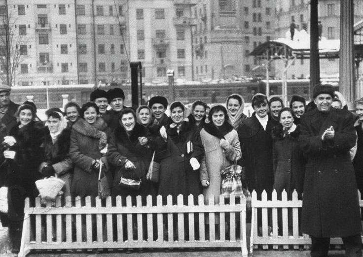 Winter of 1957, Moscow