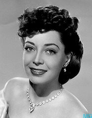 Marie Windsor wearing Joseff Hollywood Jewelry