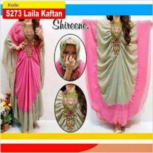 Baju gamis Muslim shireen Kaftan   Distributor Gamis Modern Terbaru Murah