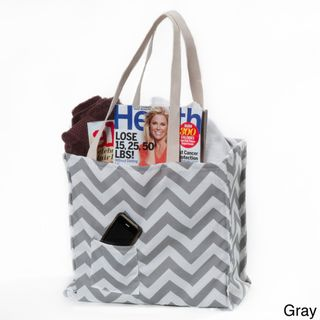 Women's Chevron Print Weatherproof Tote Bag | Overstock.comChevron Totes, Zigzag Totes, Totes Bags, Cheri Totes, Chevron Motif, Weatherproof Totes, Chevron Prints, Tote Bags, Bagconstruct Materials