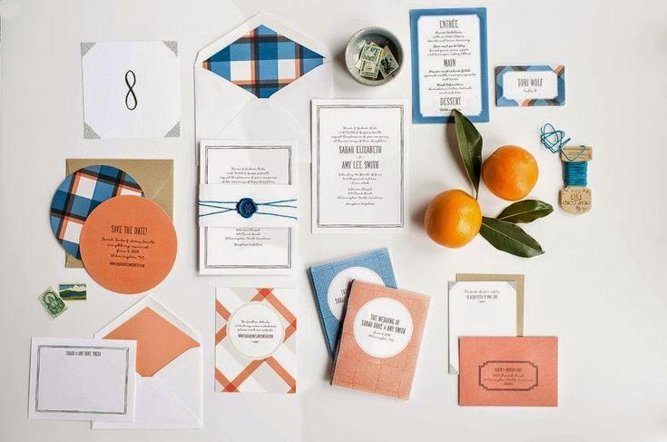 6 Unique Wedding Invitation Ideas /// Design Fixation