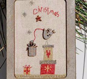 The Bee Company ~ Primitive Christmas Birdcage Kit