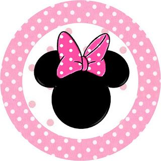 Minnie Mouse: Free Printable Toppers or Labels in pink. Check out the whole set! :)