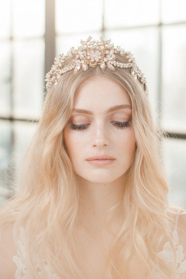 With styles to rival the Royals, statement-making bridal crowns are back - but not as you know them.
