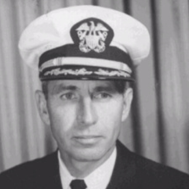 George Stephen Morrison, father of Jim Morrison and Admiral at the false flag Gulf of Tonkin incident.  Conflict of interests?  Hmmm........  Source 1:  http://en.m.wikipedia.org/wiki/George_Stephen_Morrison  Source 2:  http://www.davesweb.cnchost.com/nwsltr93.html