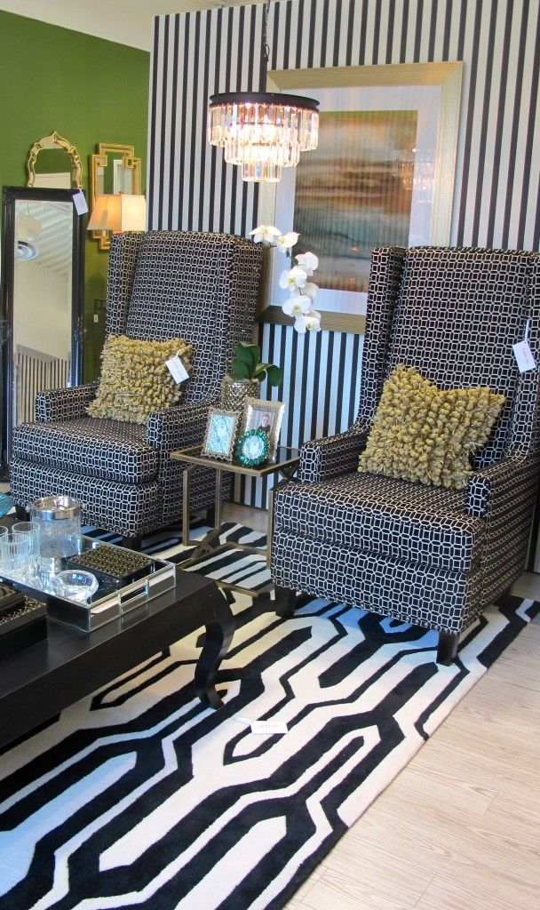 Fall Holiday Trends Via Homesense Black White And Emerald Living Room Pinterest