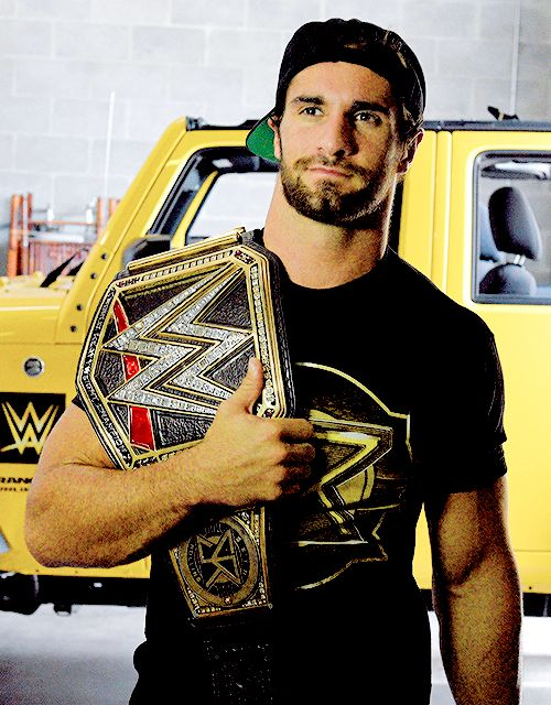 "Seth Rollins>>>Seth Rollins... THAT'S IT?! WHY PUT JUST ""Seth Rollins""?! ONE DOES NOT SIMPLY DO THAT!! NOT WHEN'S HE'S LOOKING SEXY AS HELL!!!"